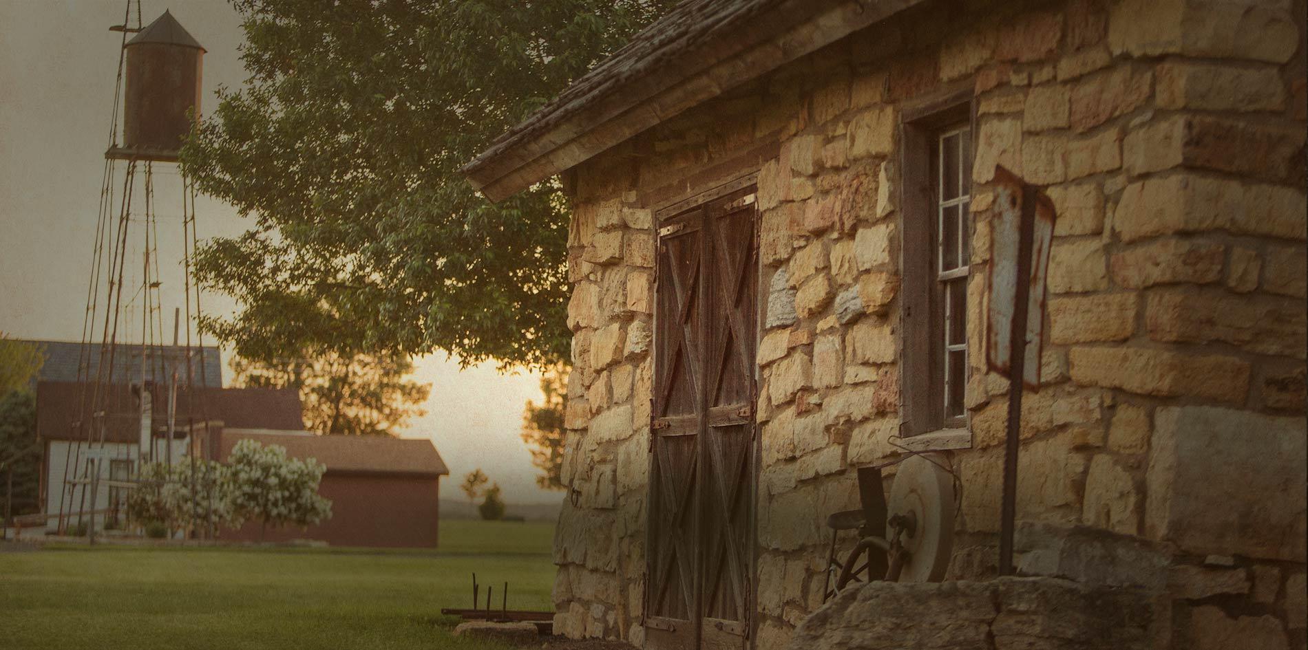 little log house pioneer village mn